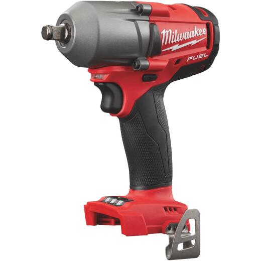 Milwaukee M18 FUEL 18 Volt Lithium-Ion Brushless 1/2 In. Mid-Torque Cordless Impact Wrench with Friction Ring (Bare Tool)