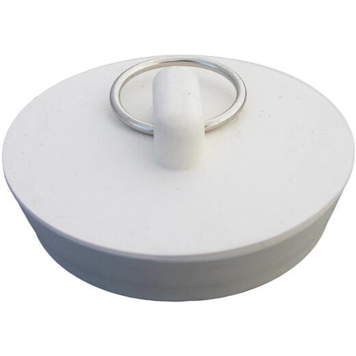 Lasco Hollow Stopper 2 In. White Sink Drain Stopper