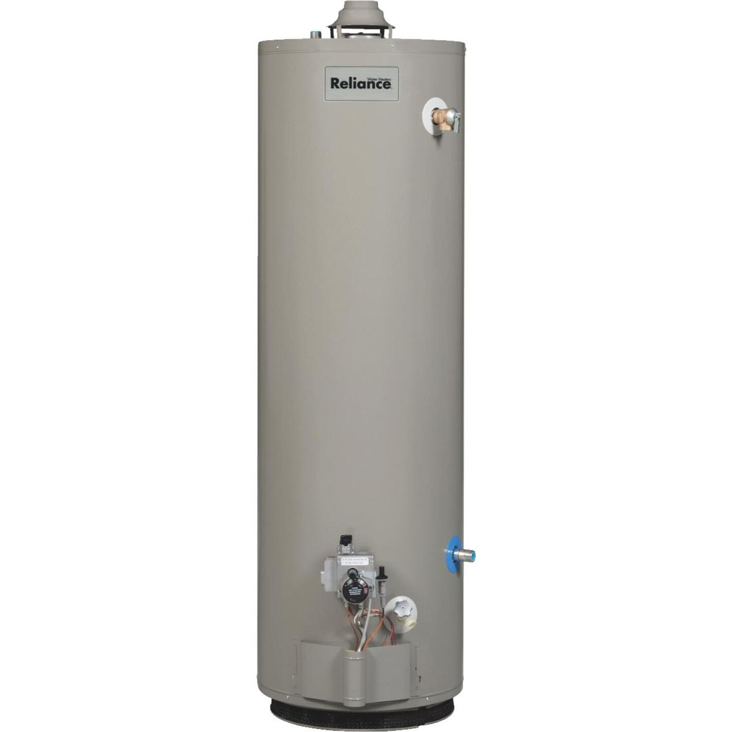 Reliance 40 Gal. 6yr Natural Gas/Liquid Propane Water Heater for Mobile Home Image 1