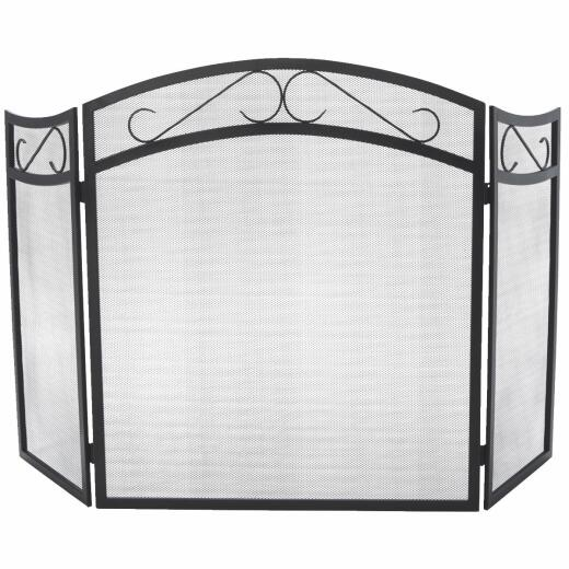 Home Impressions 3-Panel Fireplace Screen