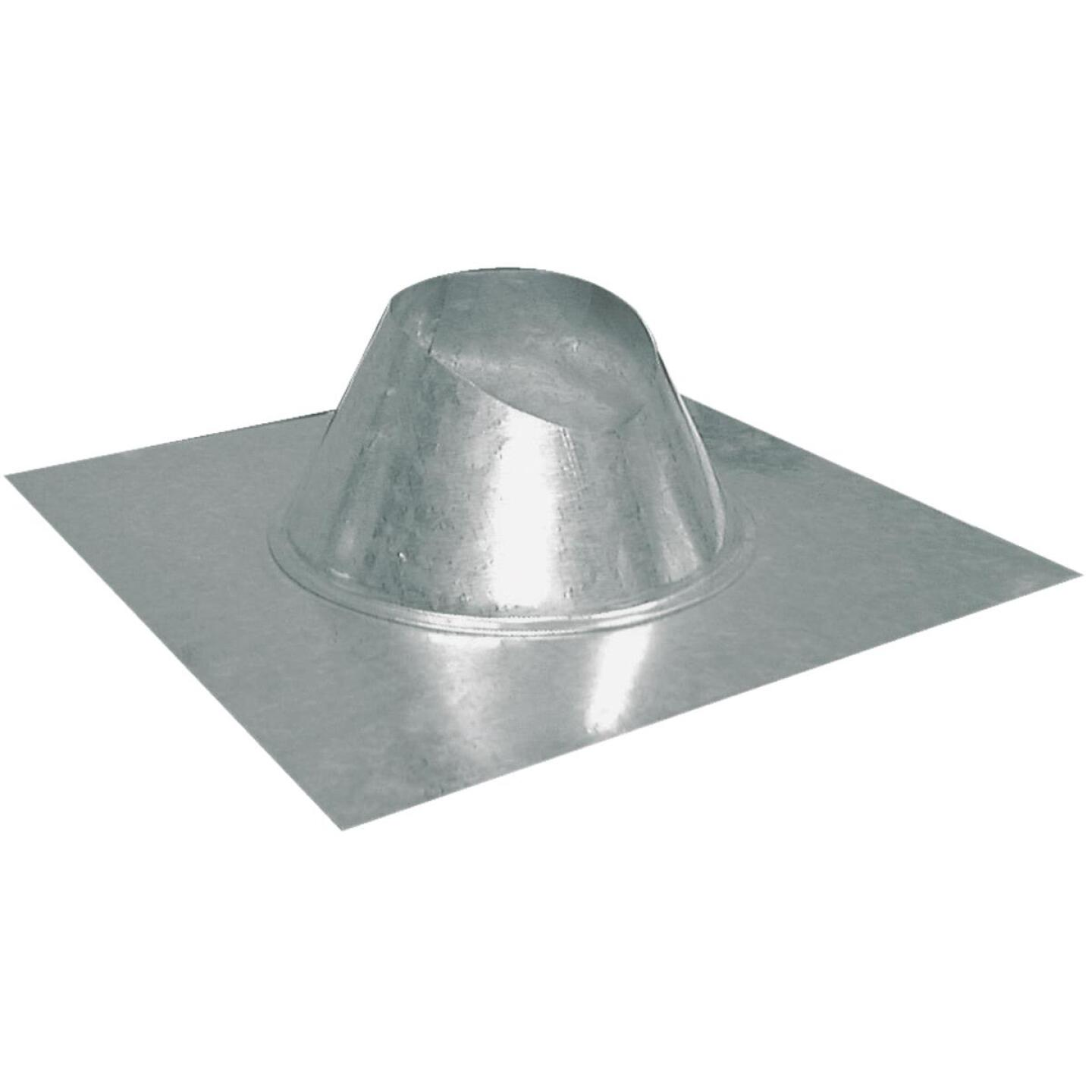 Imperial 3 In. Galvanized Rainproof Roof Pipe Flashing Image 1