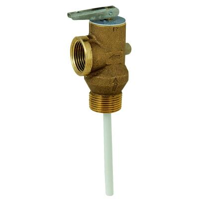 Reliance 3/4 In. MIPS Inlet X 3/4 In. FIPS Outlet Self-Closing Temperature & Pressure Relief Valve
