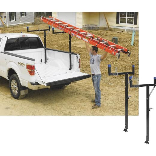 Werner Ladder 250 Lb Capacity Black Truck Rack