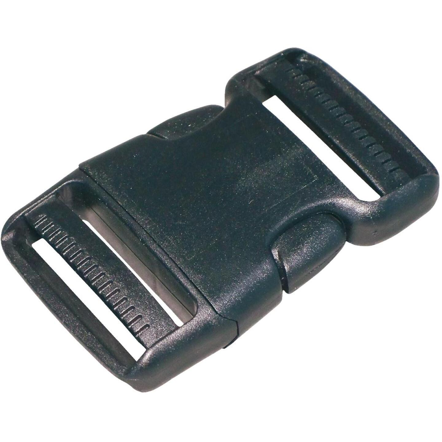 "Turf 3/4"" Black Strap Buckle Image 1"