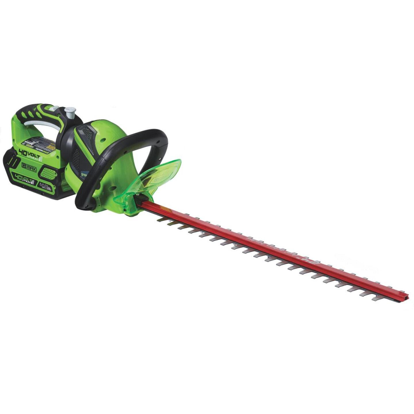 Greenworks G-Max 24 In. 40V Lithium Ion Cordless Hedge Trimmer (Bare Tool) Image 5