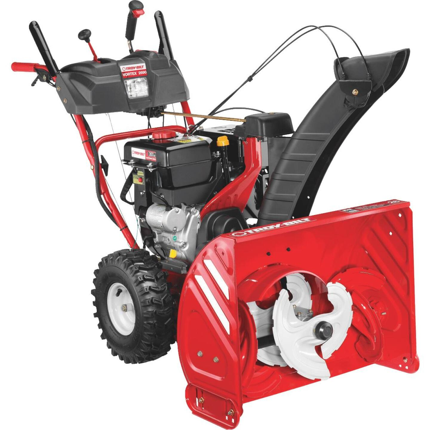 Troy-Bilt Vortex 26 In. 357cc 3-Stage Gas Snow Blower Image 1
