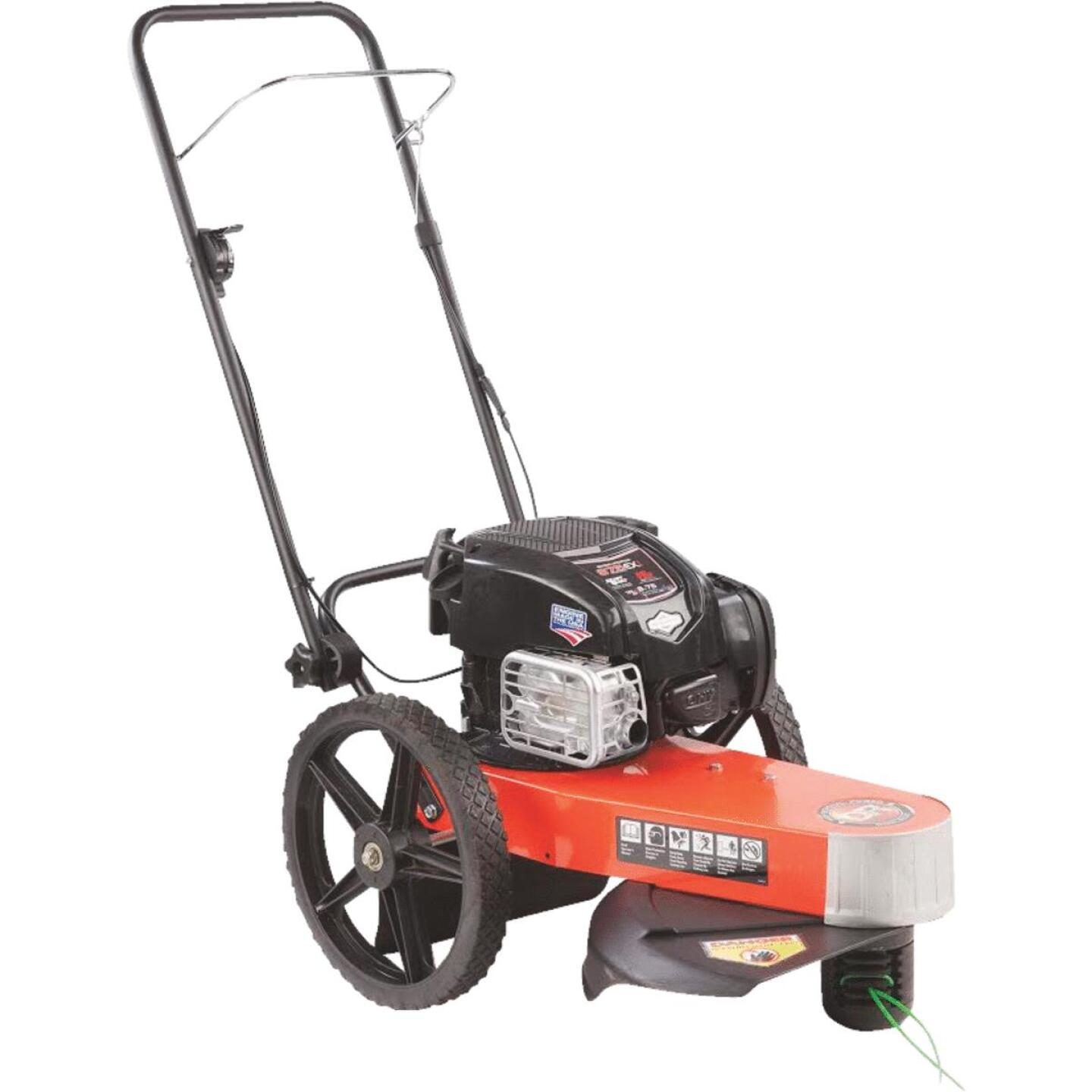 DR Power 22 In. 163 CC Walk Behind Gas Trimmer Mower Image 1