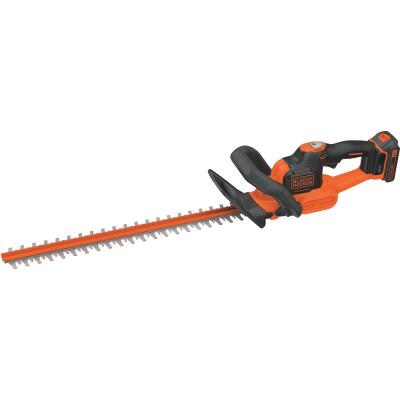 Black & Decker PowerCut 22 In. 20V Lithium Ion Cordless Hedge Trimmer