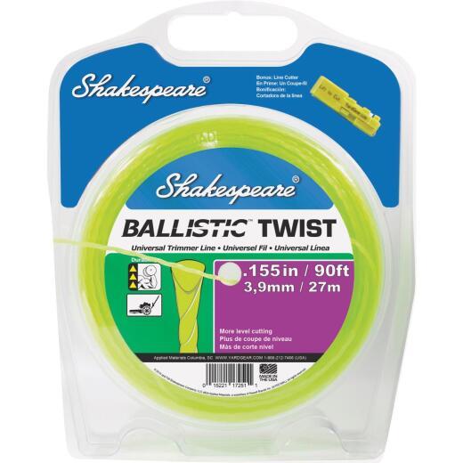 Shakespeare 0.155 In. x 90 Ft. Ballistic Twist Universal Trimmer Line