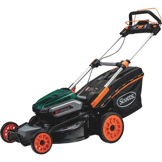 Scotts 21 In. 62 Volt Self-Propelled Lithium Ion Cordless Electric Lawn Mower