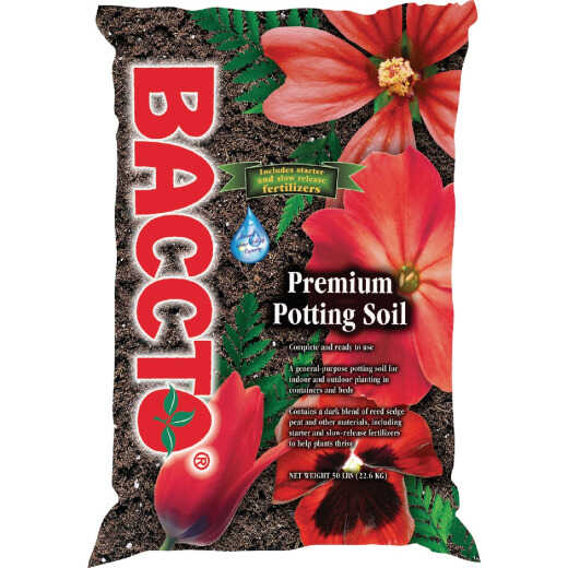 Baccto 50 Lb. Indoor & Outdoor Potting Soil