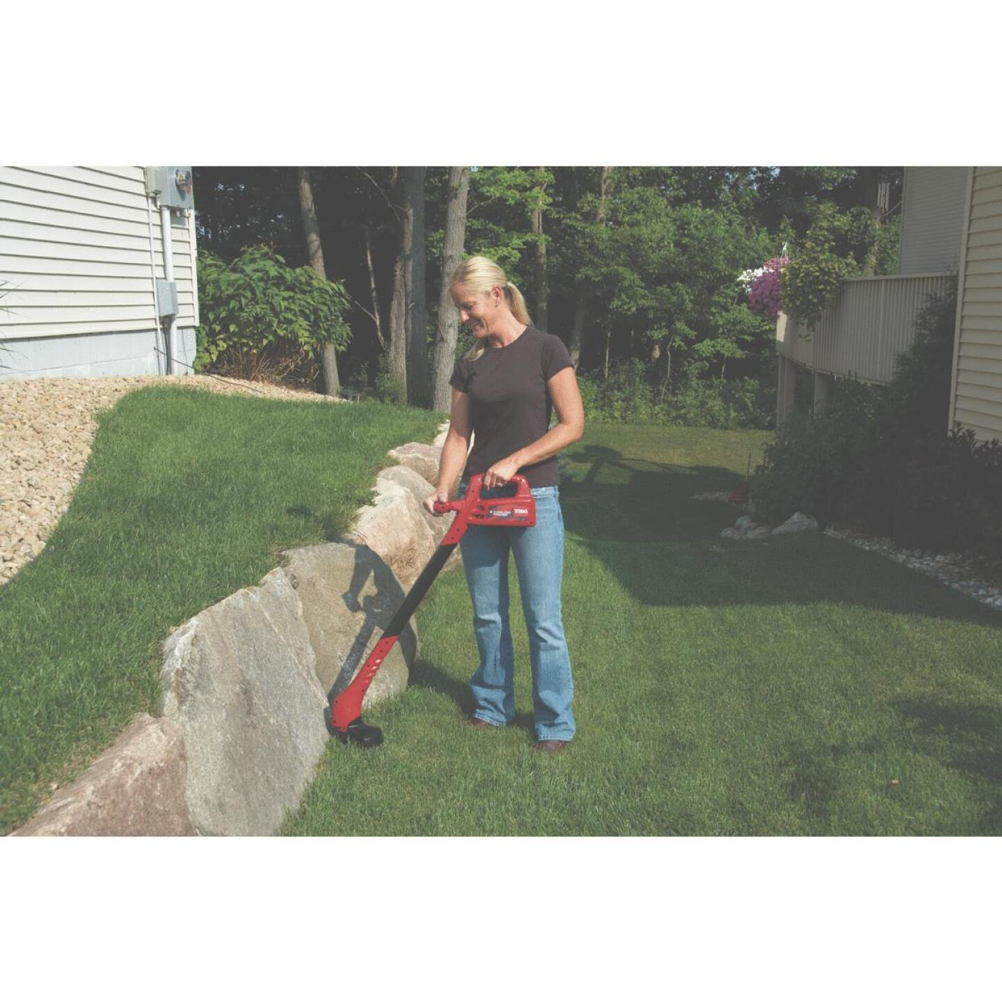 Toro 12V 8 In. Ni-Cad Straight Cordless String Trimmer Image 3