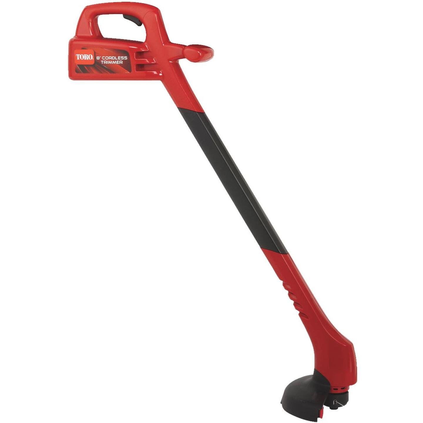 Toro 12V 8 In. Ni-Cad Straight Cordless String Trimmer Image 9