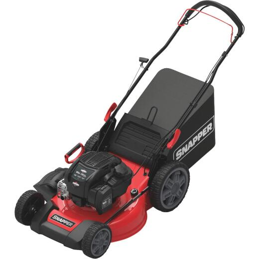 Snapper 21 In. 3-In-1 Rear Wheel Drive Variable Speed Self-Propelled Walk Behind Gas Lawn Mower