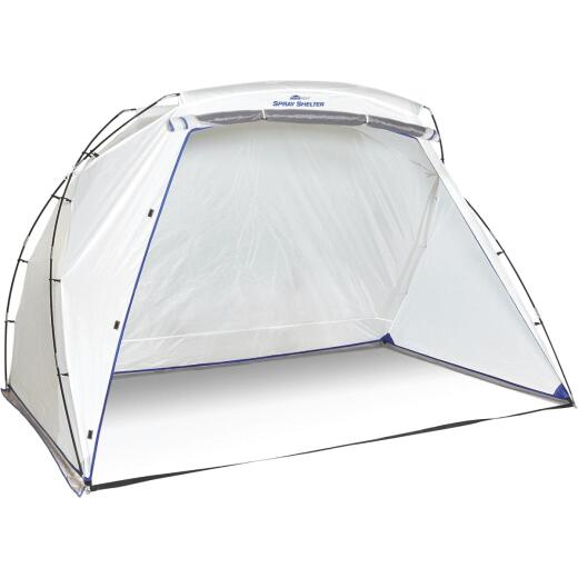 HomeRight 9 Ft. W. x 5.5 Ft. H. x 6 Ft. D. Large Portable Spray Shelter