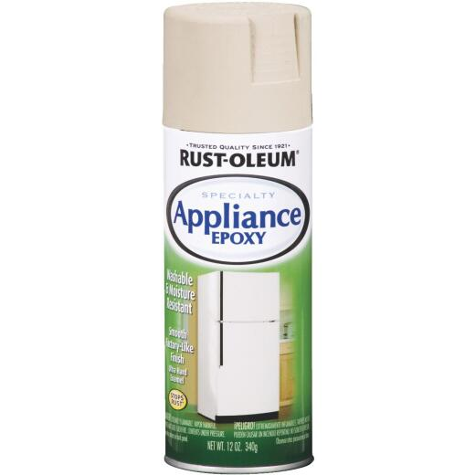 Rust-Oleum Gloss Almond 12 Oz. Appliance Spray Paint