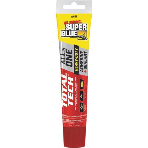 Super Glue Total Tech 4.2 Oz. White Construction Adhesive & Sealant