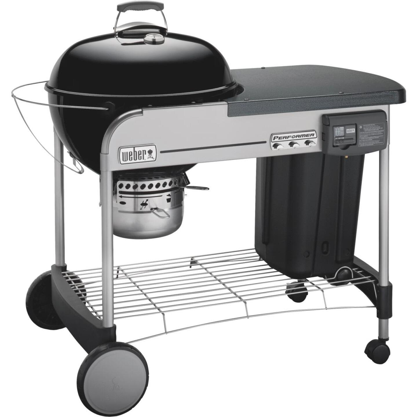 Weber Performer Deluxe 22 In. Black Charcoal Grill Image 1