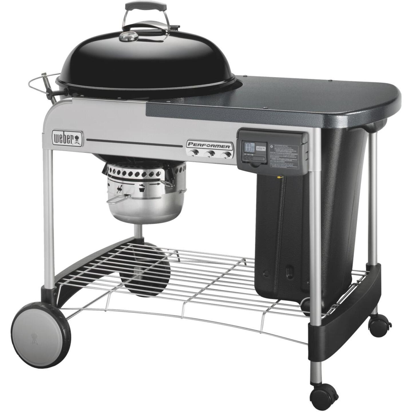 Weber Performer Deluxe 22 In. Black Charcoal Grill Image 4