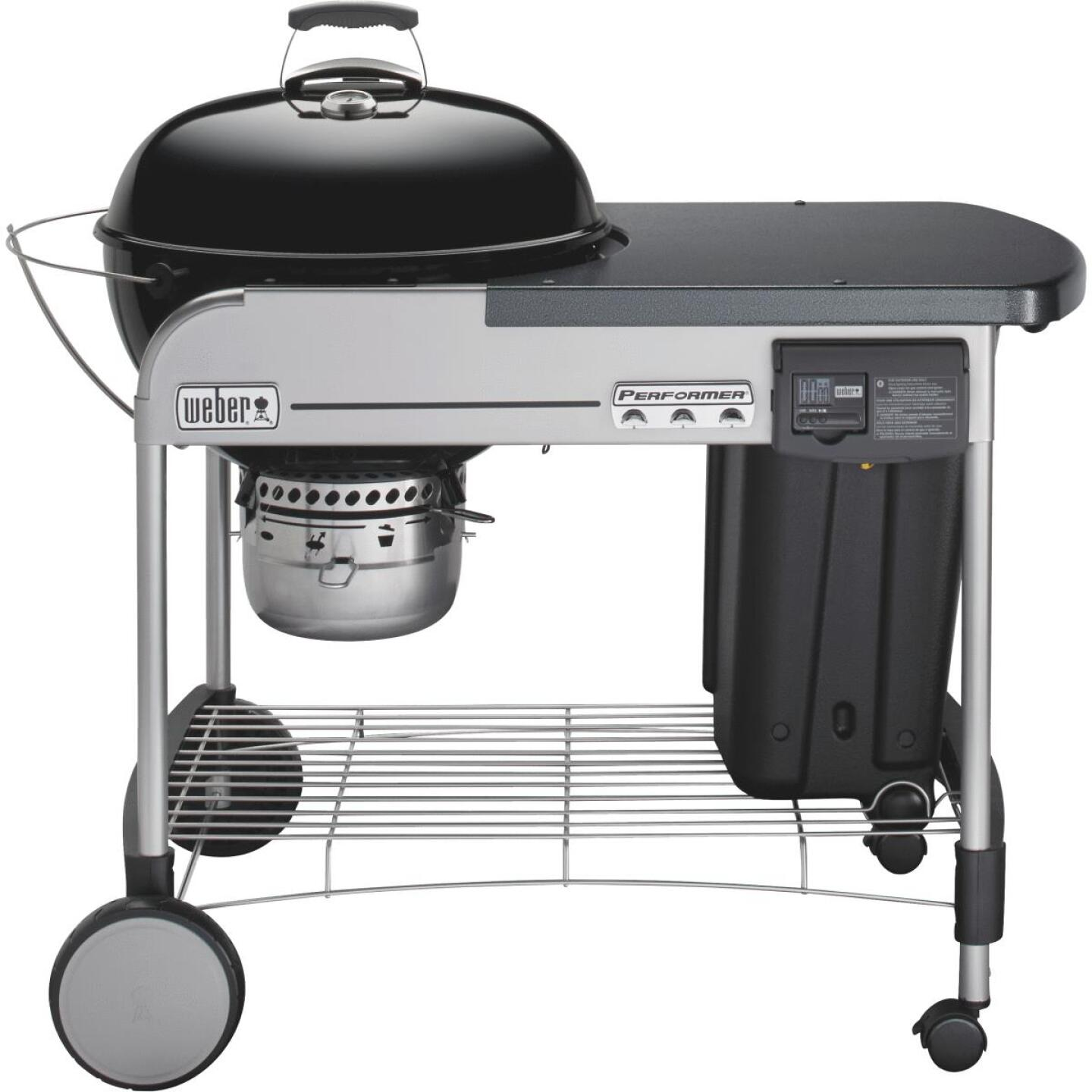 Weber Performer Deluxe 22 In. Black Charcoal Grill Image 5