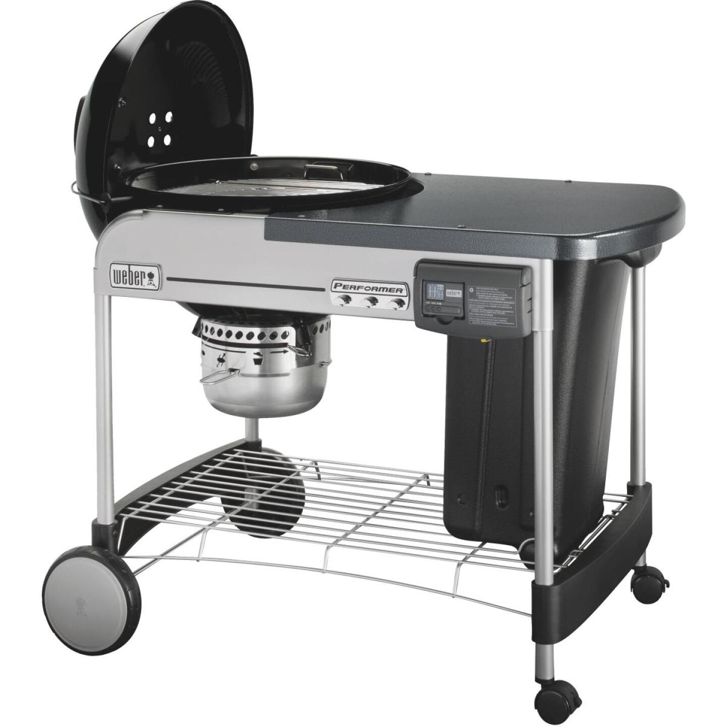 Weber Performer Deluxe 22 In. Black Charcoal Grill Image 6