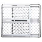 North States 26 In. to 42 In. W. White Plastic Universal Pet Gate Image 1