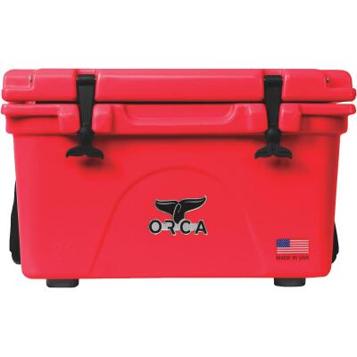 Orca 26 Qt. 24-Can Cooler, Red