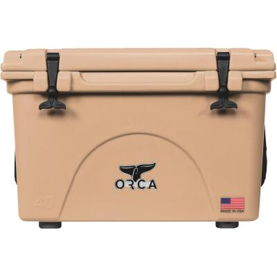 Orca 40 Qt. 48-Can Cooler, Tan