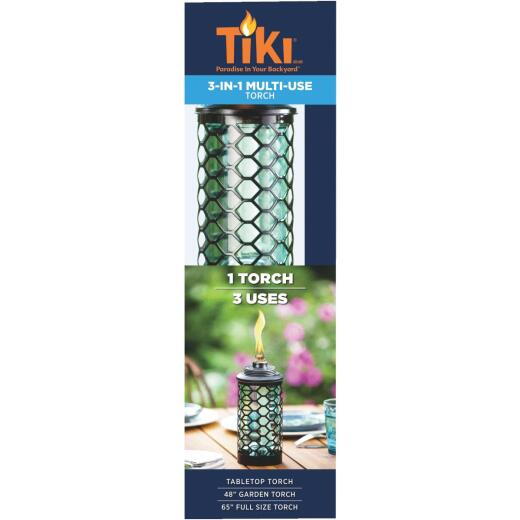 Tiki 65 In. Glass Convertible Torch